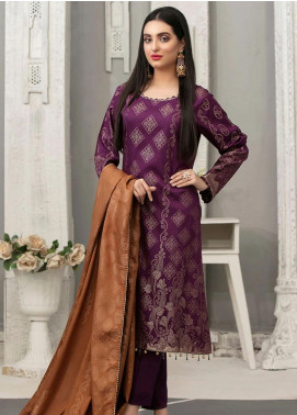 Delilah by Riaz Arts Broschia Banarsi Viscose Unstitched 3 Piece Suit RA20DV 200 - Winter Collection