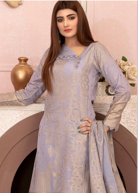 Deluxe by Riaz Arts Banarsi Broschia Unstitched 3 Piece Suit RA20D RA-49 - Spring / Summer Collection