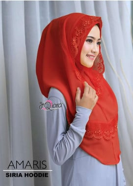 DeQiara  Bubble Pop  Ladies Scarves HH DeQiara Amaris 01 Red