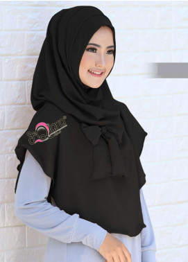 DeQiara  Bubble Pop  Ladies Scarves HH DeQiara Lipit 02 Black