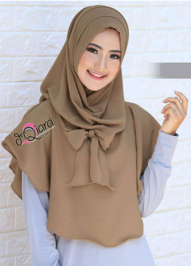 DeQiara  Bubble Pop  Ladies Scarves HH DeQiara Lipit 03 Camel