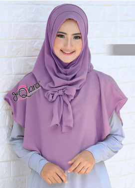 DeQiara  Bubble Pop  Ladies Scarves HH DeQiara Lipit 06  Purple