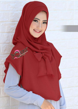 DeQiara  Bubble Pop  Ladies Scarves HH DeQiara Lipit 08 Red