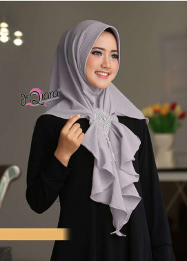 DeQiara  Bubble Pop  Ladies Scarves HH DeQiara Medina 02 Grey