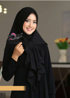 DeQiara  Bubble Pop  Ladies Scarves HH DeQiara Medina 05 Black