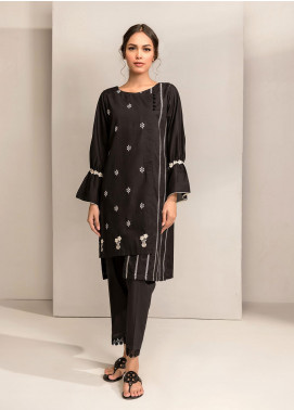 Dhanak Embroidered Cotton Stitched Kurtis DC-0257