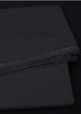 Dynasty Plain Wash N Wear Unstitched Fabric Bronze Black 4P2 - Summer Collection