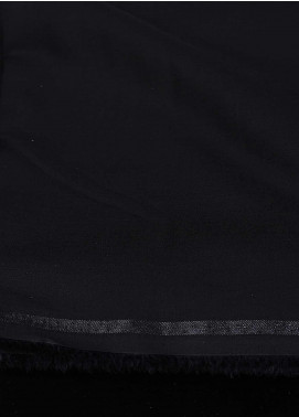 Dynasty Plain Wash N Wear Unstitched Fabric Cool Max Black 4P2 - Summer Collection