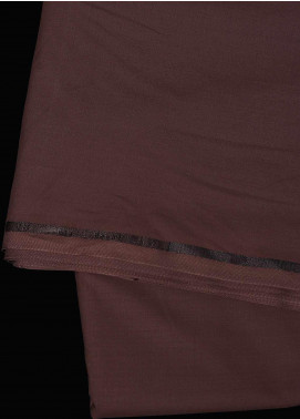 Dynasty Plain Wash N Wear Unstitched Fabric J.S Maroon 4p2. - Summer Collection