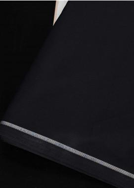 Dynasty Plain Wash N Wear Unstitched Fabric Saturn Black - Summer Collection