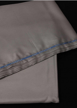Dynasty Plain Egyptian Cotton Unstitched Fabric Spark Mid Brown 4P5 - Summer Collection