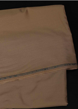 Dynasty Plain Wash N Wear Unstitched Fabric Ticket Camel 4P2 - Summer Collection