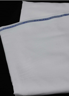 Dynasty Plain Wash N Wear Unstitched Fabric Ticket Off White 4P2 - Summer Collection