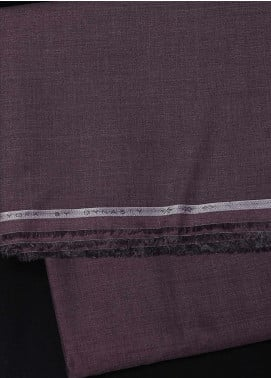 Dynasty Plain Cotton Unstitched Fabric York Maroon 4P5 - Summer Collection