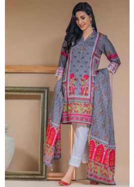 Zeen By Cambridge Embroidered Linen Unstitched 3 Piece Suit ED17W 377006