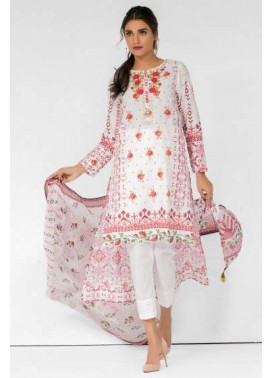 Zeen By Cambridge Embroidered Linen Unstitched 3 Piece Suit ED17W 377031