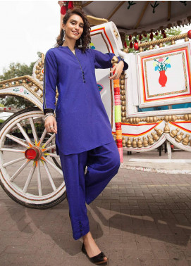 Edenrobe Embroidered Poly Viscose Stitched 2 Piece Suit 066832