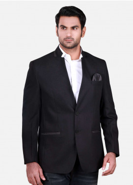 Edenrobe Cotton Casual Men Blazers - Black EDM18B-6578