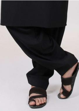 Edenrobe Washing Wear  Shalwar for Men - Black EDS18M 9907