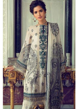 Elan Embroidered Chiffon Unstitched 3 Piece Suit El17E Fairuza