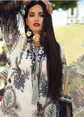 Elan Embroidered Lawn Unstitched 3 Piece Suit EL18L 1A - Spring / Summer Collection