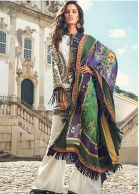 Elan Embroidered Lawn Unstitched 3 Piece Suit EL18L 5B - Spring / Summer Collection