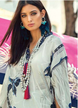 Elan Embroidered Lawn Unstitched 3 Piece Suit EL18L 9B - Spring / Summer Collection