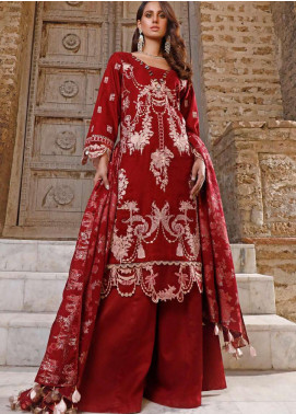 Elaf Embroidered Linen Unstitched 3 Piece Suit EL20W 01 - Winter Collection