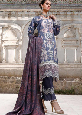 Elaf Embroidered Linen Unstitched 3 Piece Suit EL20W 02 - Winter Collection