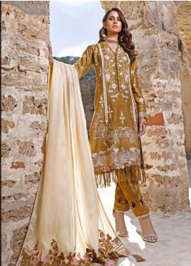 Elaf Embroidered Linen Unstitched 3 Piece Suit EL20W 03 - Winter Collection