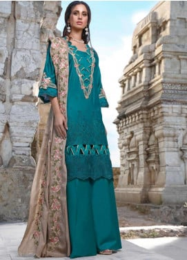Elaf Embroidered Linen Unstitched 3 Piece Suit EL20W 07 - Winter Collection