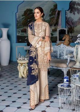 Elaf Embroidered Missouri Unstitched 3 Piece Suit EL19-C4 406 LIGHT PALE - Luxury Collection