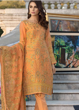 Elaf Embroidered Missouri Unstitched 3 Piece Suit ELF19C 04 - Luxury Collection
