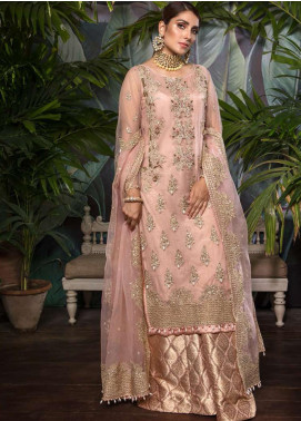 Ornamental by Elaf Embroidered Net Unstitched 3 Piece Suit EL20PW 01 - Luxury Collection