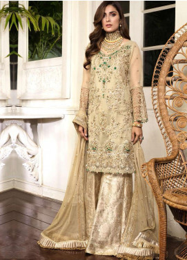 Ornamental by Elaf Embroidered Organza Unstitched 3 Piece Suit EL20PW 02 - Luxury Collection