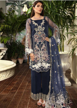 Ornamental by Elaf Embroidered Organza Unstitched 3 Piece Suit EL20PW 03 - Luxury Collection