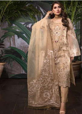 Ornamental by Elaf Embroidered Organza Unstitched 3 Piece Suit EL20PW 04 - Luxury Collection