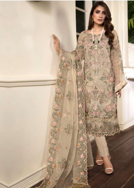 Ornamental by Elaf Embroidered Organza Unstitched 3 Piece Suit EL20PW 09 - Luxury Collection