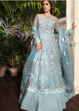 Ornamental by Elaf Embroidered Net Unstitched 3 Piece Suit EL20PW 10 - Luxury Collection