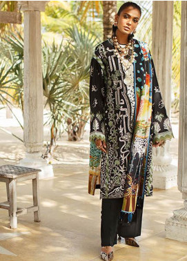 Elan Embroidered Lawn Unstitched 3 Piece Suit EL20L 1-A NYOTA - Spring / Summer Collection