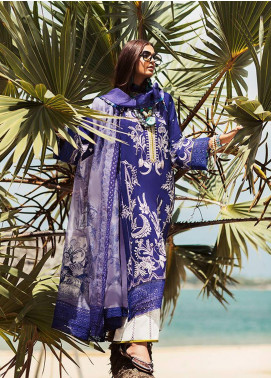 Elan Embroidered Lawn Unstitched 3 Piece Suit EL20L 11-A BAHARI - Spring / Summer Collection