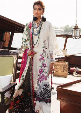 Elan Embroidered Lawn Unstitched 3 Piece Suit EL20L 5-A MARINI - Spring / Summer Collection