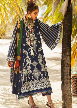 Elan Embroidered Lawn Unstitched 3 Piece Suit EL20L 6-B JIONI - Spring / Summer Collection