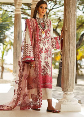 Elan Embroidered Lawn Unstitched 3 Piece Suit EL20L 9-A TISHALA - Spring / Summer Collection