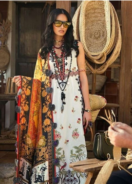 Elan Embroidered Lawn Unstitched 3 Piece Suit EL19L 13B ENCANTADA - Spring / Summer Collection