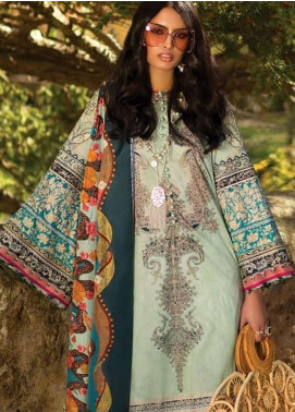 Elan Embroidered Lawn Unstitched 3 Piece Suit EL19L 3A ALMENDRA - Spring / Summer Collection