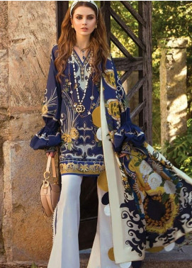 Elan Embroidered Lawn Unstitched 3 Piece Suit EL19L 4A ANORANZA - Spring / Summer Collection