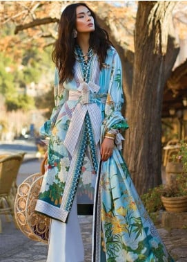 Elan Embroidered Lawn Unstitched 3 Piece Suit EL19L 5A SERENIDAD - Spring / Summer Collection