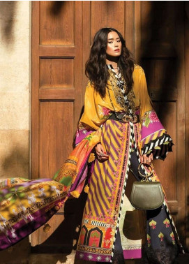 Elan Embroidered Lawn Unstitched 3 Piece Suit EL19L 9B VIVIR - Spring / Summer Collection