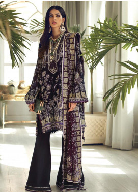 Elan Embroidered Chiffon Unstitched 3 Piece Suit EL19C 05 ESMERAY - Luxury Collection